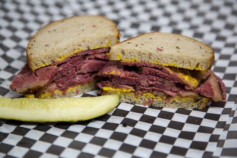 BIG ANGES Smoked Pastrami on Rye